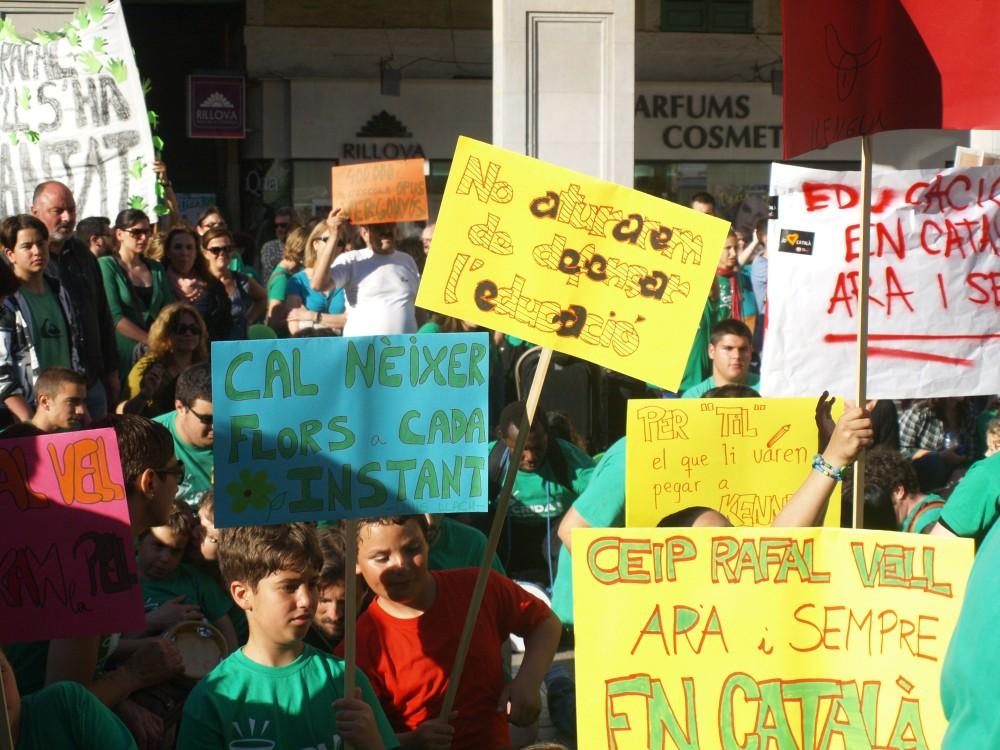 Manifestación a favor de la educación pública / Palma de Mallorca / Xavier Garrido Galmés